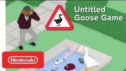 Vidéo : Untitled Goose Game : Trailer d'annonce sur Switch