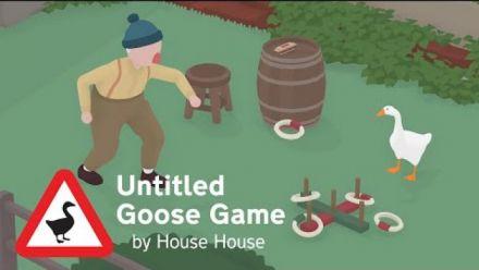 vidéo : Untitled Goose Game : Trailer de lancement