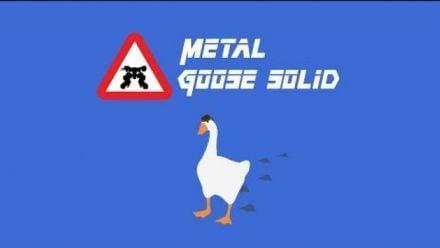 vidéo : Untitled Goose Game X Metal Gear Solid (vidéo de Bearly Regal)