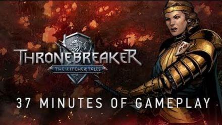 Vidéo : Thronebreaker: The Witcher Tales : 37 minutes de gameplay