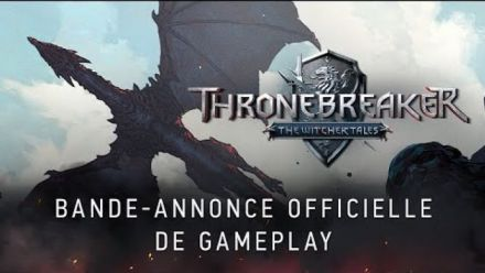 Vid�o : Thronebreaker: The Witcher Tales  Bande-annonce officielle de Gameplay