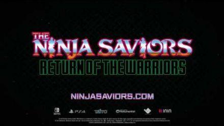 Vid�o : The Ninja Saviors Return of the Warriors - date de sortie