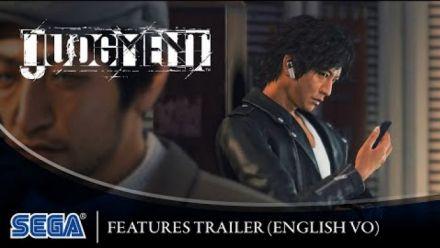 """Vid�o : Judgment : Bande-annonce """"Features"""" en Français"""