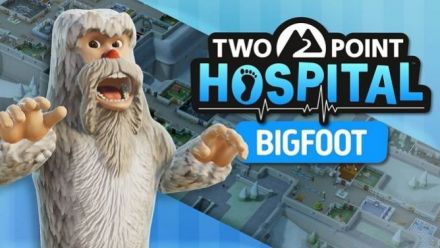 Two Point Hospital présente son premier DLC : Bigfoot