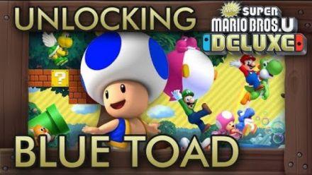 New Super Mario Bros. U : Comment débloquer Toad Bleu
