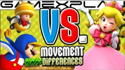 New Super Mario Bros. U Deluxe : Peachette vue par Game Explain
