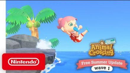 vidéo : Animal Crossing New Horizons : Mise à jour estivale