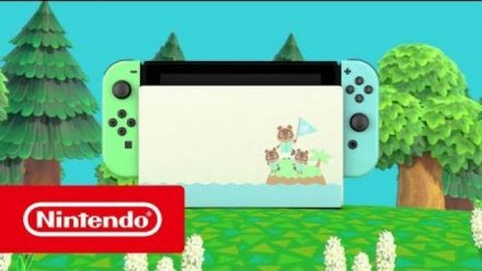 Animal Crossing New Horizons : Trailer de la Switch en édition limitée