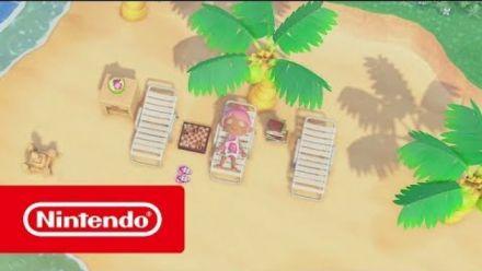 """Animal Crossing New Horizons : Bande-annonce """"Votre île, votre vie"""""""