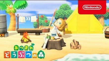 Publicité Animal Crossing New Horizons Japon