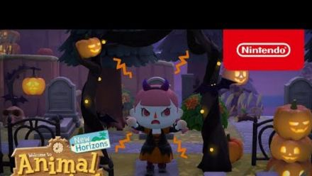 Vid�o : L'esprit d'Halloween vient hanter Animal Crossing: New Horizons dès le 30 septembre