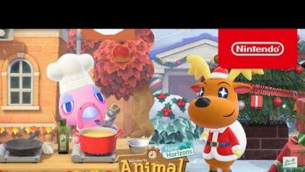 Vid�o : Animal Crossing: New Horizons - La mise à jour d'hiver arrive le 19 novembre !