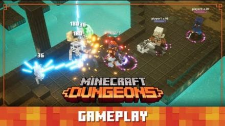 Vidéo : Minecraft Dungeons Diaries: Gameplay