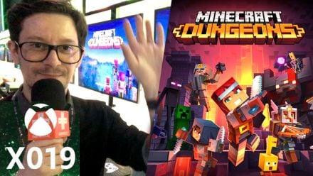 Vidéo : Minecraft Dungeon : Nos impressions du X019