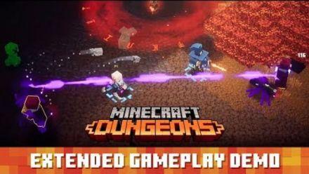 Vidéo : Minecraft Dungeons: 30 minutes de gameplay