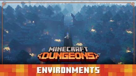 Vid�o : Minecraft Dungeons : Environnements