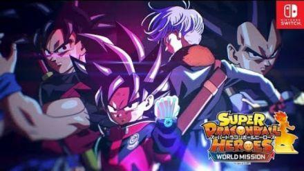 Super Dragon Ball Heroes World Mission : Trailer Jump Festa 2019