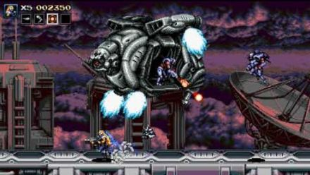 Vidéo : Blazing Chrome : Level 4-1