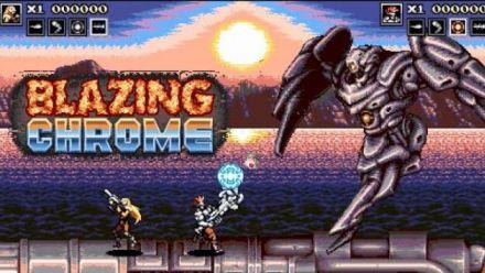 Vid�o : Blazing Chrome : Trailer de gameplay ?