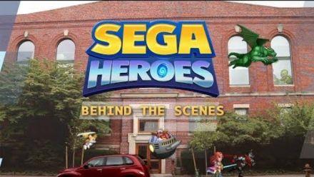 "Vid�o : SEGA Heroes : Vidéo ""Behind the Scenes"""