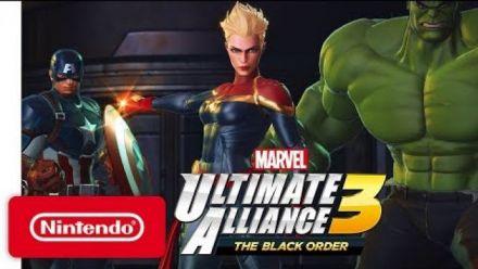 Vidéo : MARVEL ULTIMATE ALLIANCE 3: The Black Order - Nintendo Switch