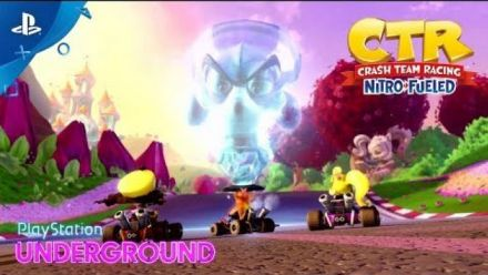 Crash Team Racing : 20 minutes de gameplay PlayStation Underground