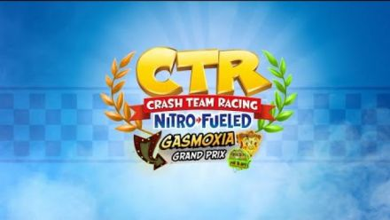 Crash Team Racing Nitro-Fueled - Gasmoxia Grand Prix Intro