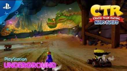 Crash Team Racing Nitro-Fueled : Deux circuits au PlayStation Underground