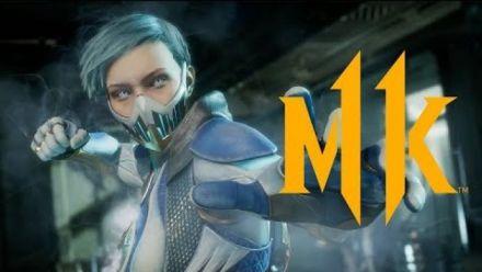Mortal Kombat 11 : Trailer de Frost