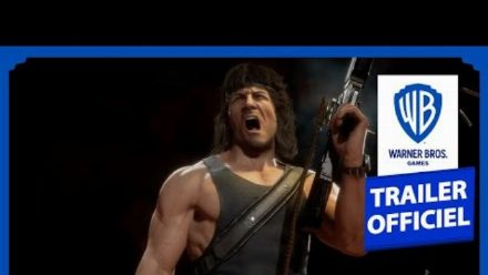 Mortal Kombat 11 : Trailer de gameplay de Rambo en version française