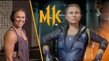 Mortal Kombat 11 : Ronda Rousey est Sonya Blade