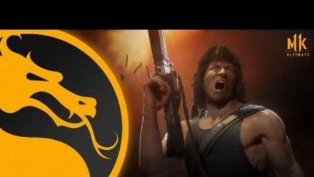 vidéo : Mortal Kombat 11 : Trailer de gameplay de Rambo