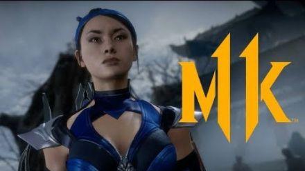 Mortal Kombat 11  Kitana Trailer