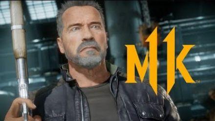 vidéo : Mortal Kombat 11 Kombat Pack - Official Terminator T-800 Gameplay Trailer