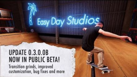 Skater XL Early Access Update 0.3.0.0B Now Available on Steam for PC