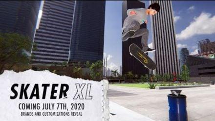Skater XL : Trailer de sortie