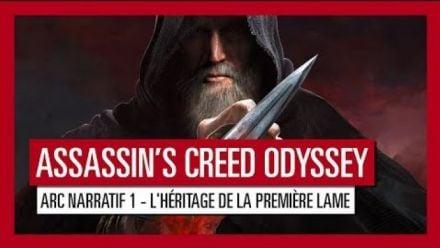 Assassin's Creed Odyssey : L'Héritage de la Première Lame - 2pisode 1 : Trailer de lancement