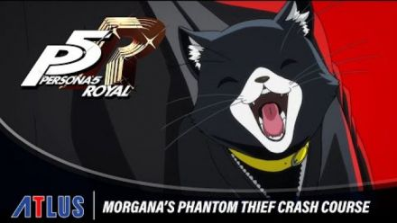 Vid�o : Persona 5 Royal - Morgana's Phantom Thief Crash Course
