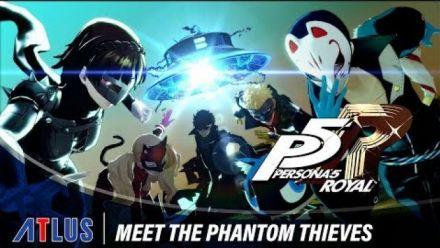 Persona 5 Royal | Meet the Phantom Thieves Trailer (FR)