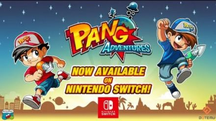 Vid�o : Pang Adventures : Trailer de lancement Nintendo Switch