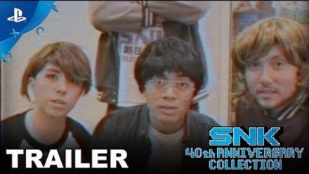 Vid�o : SNK 40th Anniversary : Trailer de sortie sur PlayStation 4