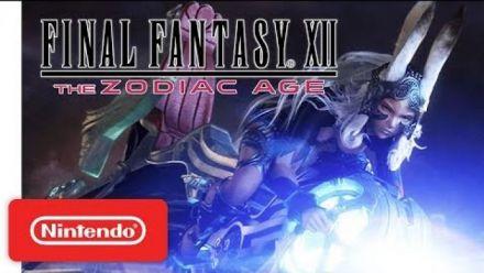 Vid�o : Final Fantasy XII The Zodiac Age : gameplay trailer