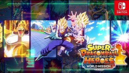 Super Dragon Ball Heroes World Mission : Trailer création de cartes