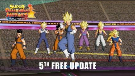 Vid�o : Super Dragon Ball Heroes World Mission : Bande-annonce mise à jour 5