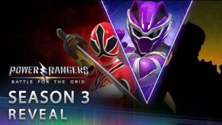 Vid�o : Power Rangers Battle for the Grid : Reveal Saison 3