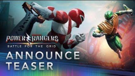 Vidéo : Power Rangers : Battle for the Grid : Teaser d'annonce