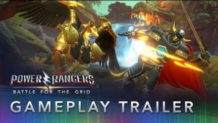 Vidéo : Power Rangers Battle for the Grid : Bande-annonce de gameplay