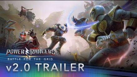 Vidéo : Power Rangers Battle for the Grid : Bande-annonce version 2.0