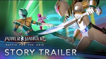 Vidéo : Power Rangers Battle for the Grid : Bande-annonce mode Histoire
