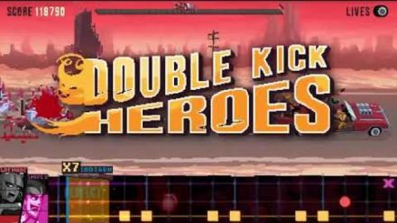 Double Kick Heroes : Trailer annonce Switch